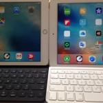iPadPro用のキーボードとロジクール「TF715」を比較