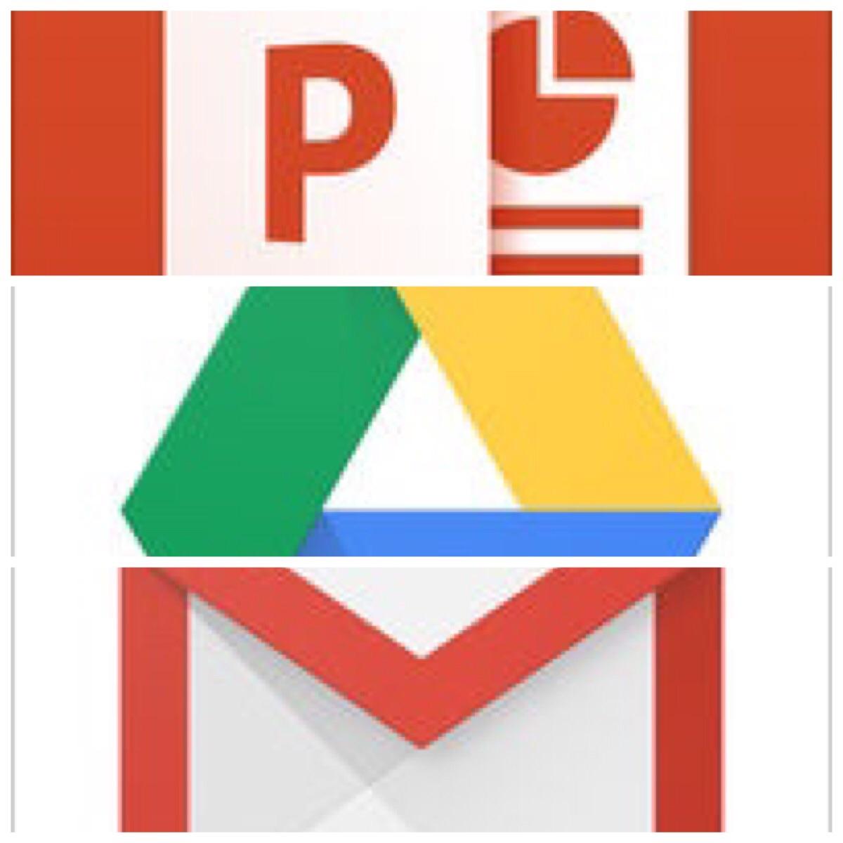 powerpointをpdfに変換しgoogledriveに保存した後 リンクurlをメールで